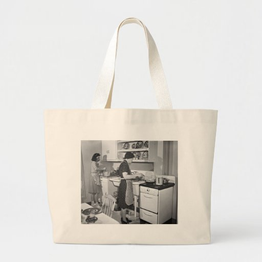 Home Cooking: 1942 Canvas Bag