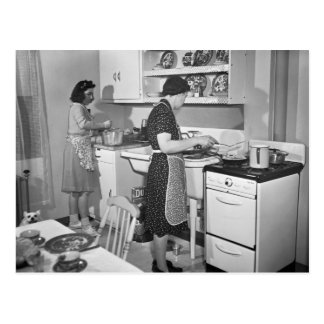 Home Cooking: 1942 Postcard