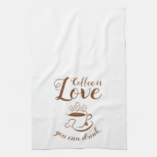 Home Cooking Coffee Kitchen Towel