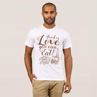 Home Cooking Love Script T-shirt
