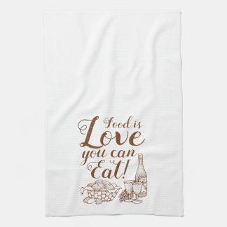 Home Cooking Script Kitchen Towel