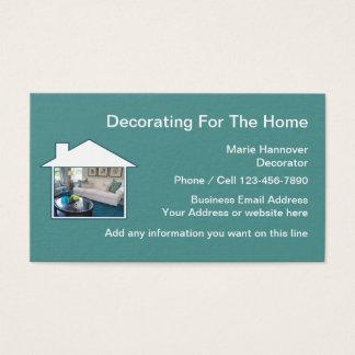 Home Decorator Profile Card Design