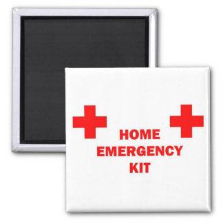 Home Emergency Kit Magnet