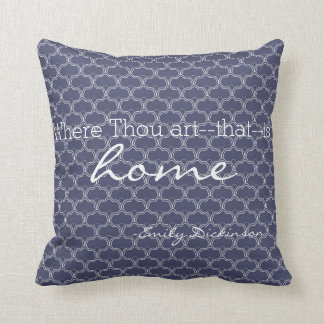 Home Emily Dickinson Literary Quote Pillow