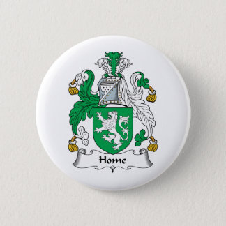 Home Family Crest 2 Inch Round Button