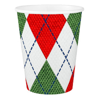 Home for the Holidays Christmas Paper Cups