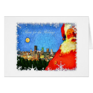 """""""Home for the Holidays in Pittsburgh"""" Card"""