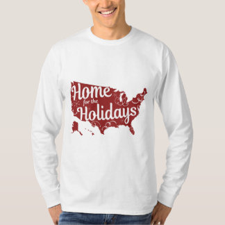 Home for the Holidays Men's Long Sleeved T-Shirt