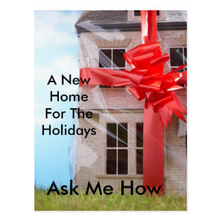 Home For The Holidays Postcard