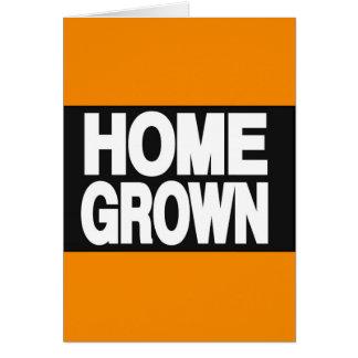 Home Grown 2 Orange Greeting Card
