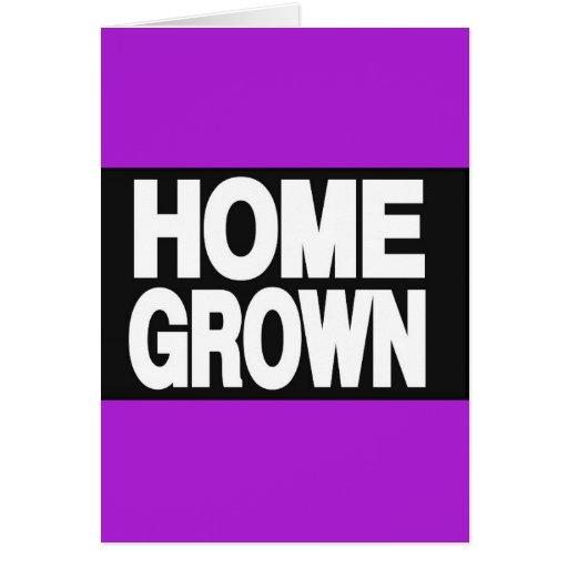 Home Grown 2 Purple Card