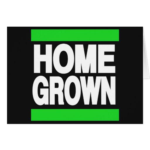 Home Grown Green Greeting Card