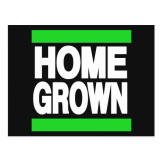 Home Grown Green Post Card