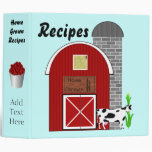 Home Grown Recipes Avery Binder