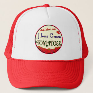 Home Grown Tomatoes Gardener Hat