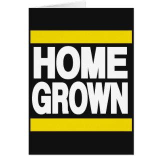 Home Grown Yellow Greeting Card