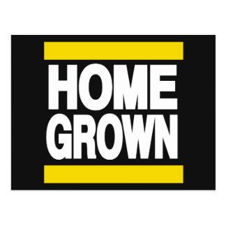 Home Grown Yellow Postcard