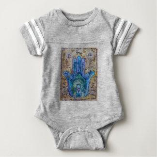 Home Hamsa Baby Bodysuit