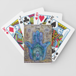 Home Hamsa Bicycle Playing Cards