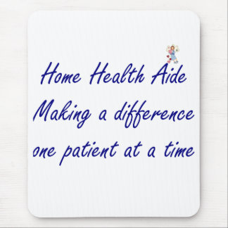 Home Health Aide Mouse Pad