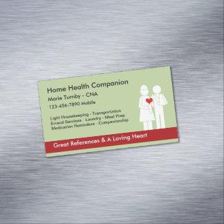Home Health Companion CNA Magnetic Business Card