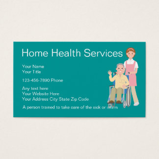 Nursing Business Cards And Card Templates