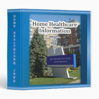 Home Healthcare Info Binder