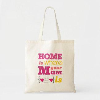 Home i where your mom i sac fourre-tout