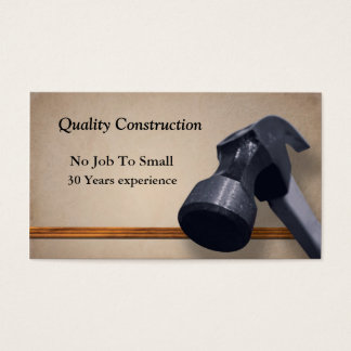 Home Improvement Business Card