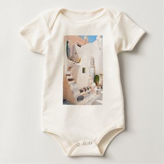 Home in Santorini Baby Bodysuit