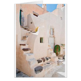 Home in Santorini Card