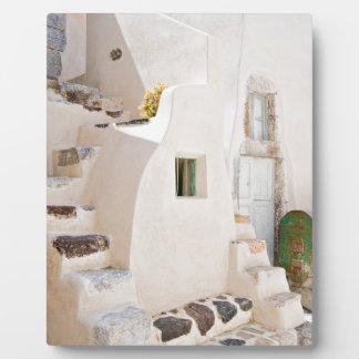 Home in Santorini Plaque