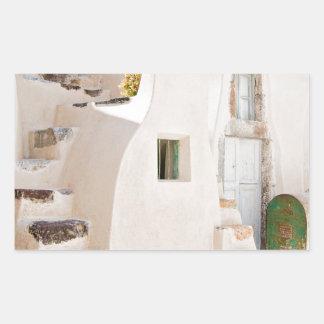 Home in Santorini Sticker