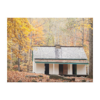 Home in the Mountains Gallery Wrap Canvas