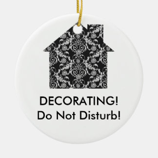 Home Interior Decorator Ceramic Ornament
