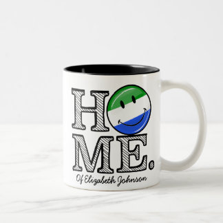 Home is Sierra Leone Housewarming Two-Tone Coffee Mug