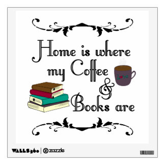 Home is wall sticker