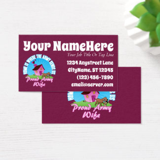 Home Is Where... Business Card