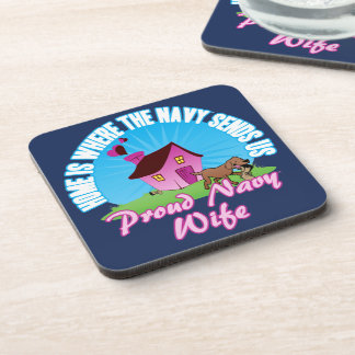 Home Is Where... Coaster