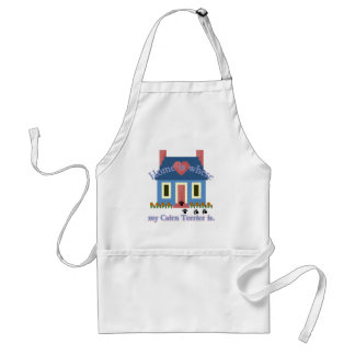 Home is Where My Cairn Terrier Is Standard Apron