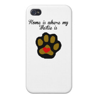 Home Is Where My Westie Is iPhone 4 Case
