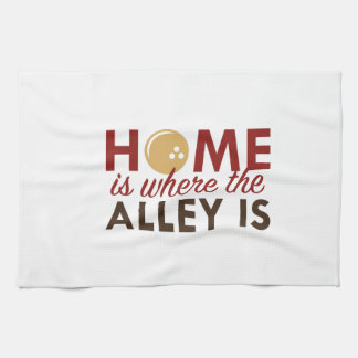 Home Is Where The Alley Is Kitchen Towel
