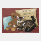 Home is Where the Cat is... Kitchen Towel