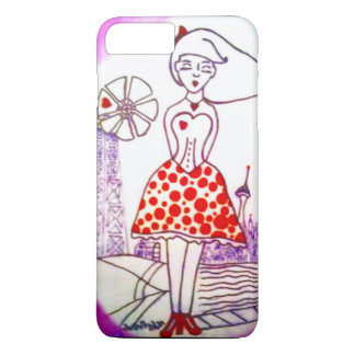 """""""home is where the heart is"""" case for iPhone 7"""