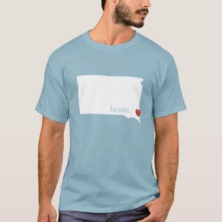 Home is where the heart is - South Dakota T-Shirt
