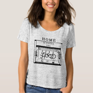 Home Is Where The Hood Is Slouchy Tee