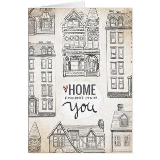 Home Is Wherever I'm With You Card