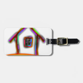 Home Luggage Tag