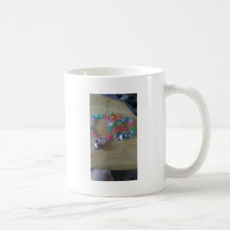 home made beaded braclets coffee mug