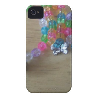 home made beaded braclets iPhone 4 case